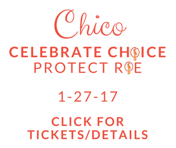 Go to Chico Celebration of Choice Event/Ticket Page
