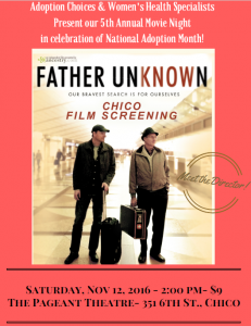 ACNC Father Unknown poster