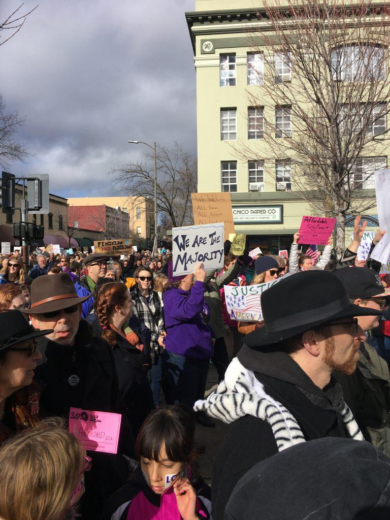 Women's March on Chico