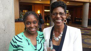 Dr. Gross, honoree for NAF award